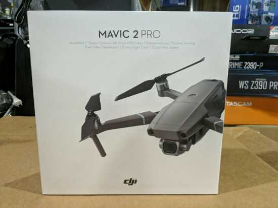 Fs: DJI Mavic 2 PRO Drone Quadcopter with Fly More